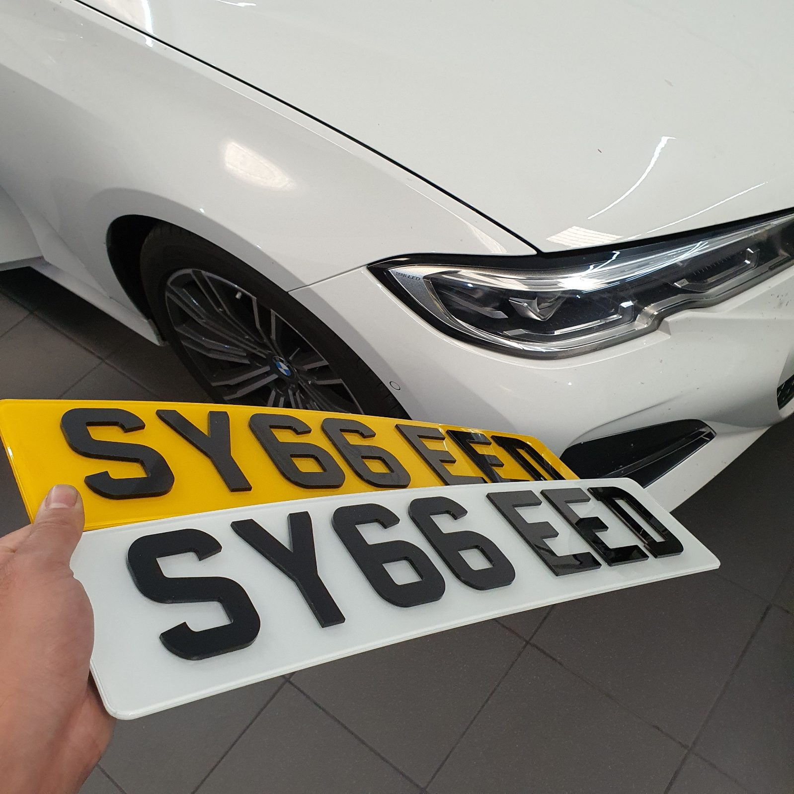 Replacement Number Plates - TTints