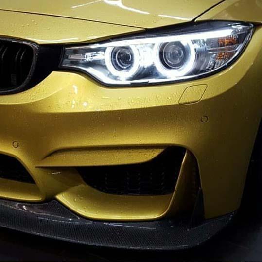 BMW Headlight Tint - before